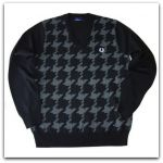 свитер FRED PERRY K4227 black